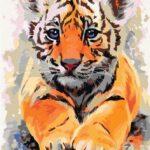 Kölyök Tigris – számfestő készlet