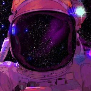 Az Űrhajós – számfestő készlet