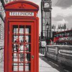 Telefonfülke – számfestő készlet